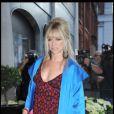 Jo Wood se rend au dîner organisé par la créatrice Diane Von Furstenberg à Claridges à Londres le 23 juin 2010