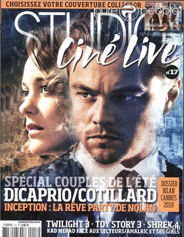 La couverture du Studio Ciné Live.