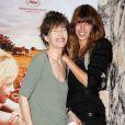 Jane Birkin et Lou Doillon, à l'occasion de l'avant-première de  L'Arbre , au Gaumont Capucines, à Paris, le 25 juin 2010.