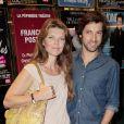 Gwendoline Hamon et Frédéric Diefenthal aux Folies Bergère, le 29 juin 2010.