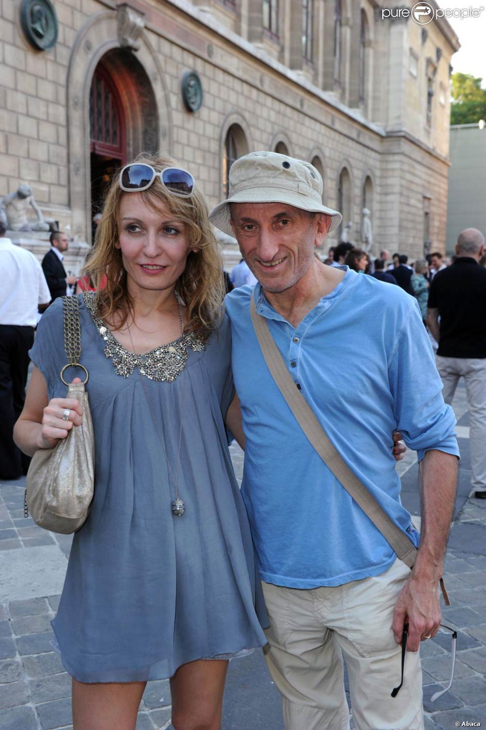 Jean fran ois derec et sa compagne l 39 occasion du cocktail donn pour la f te du cin ma l - Jean francois balmer et sa femme ...