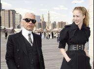 Mode : Karl Largerfeld et Raquel Zimmermann en plein shooting à New York