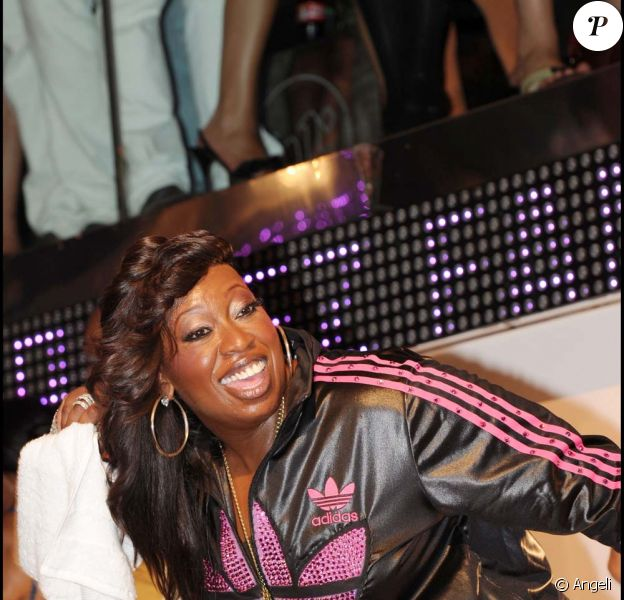 Missy Elliott, concert privé au VIP Room, à Saint-Tropez, le 12 juillet 2010