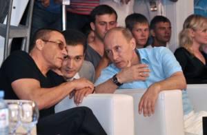 Jean-Claude Van Damme : En pleine compétition d'un sport très violent avec...Vladimir Poutine !