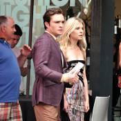 Gossip Girl : Clémence Poésy collée à Ed Westwick, et Blake Lively majestueuse... Une cérémonie se prépare ?