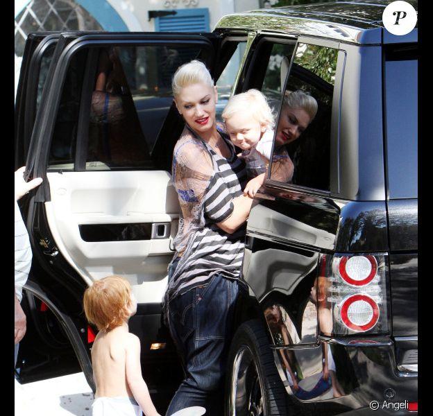 Gwen Stefani à Los Angeles, le 17 juillet 2010