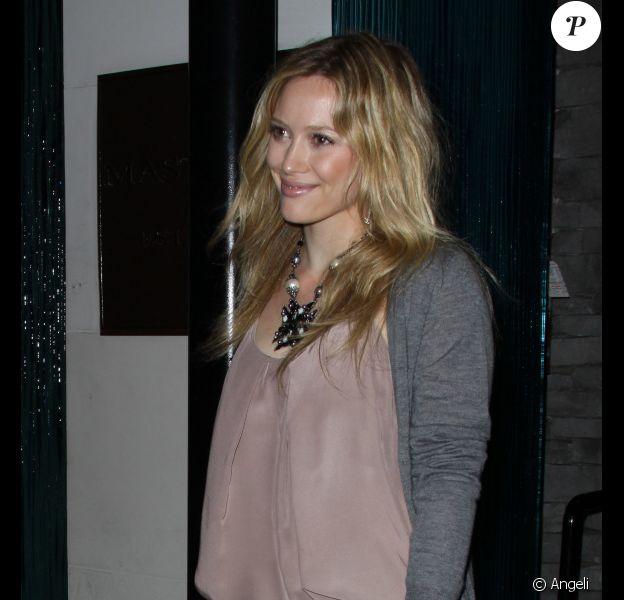 Hilary Duff à Los Angeles, le 19 juillet 2010