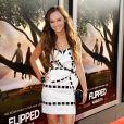 Madeline Carroll, à l'occasion de l'avant-première de  Flipped , qui s'est tenue au Cinerama Drome de Los Angeles, le 26 juillet 2010.