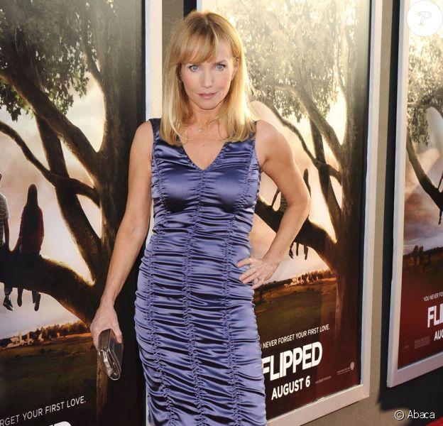 Rebecca de Mornay, à l'occasion de l'avant-première de Flipped, qui s'est tenue au Cinerama Drome de Los Angeles, le 26 juillet 2010.