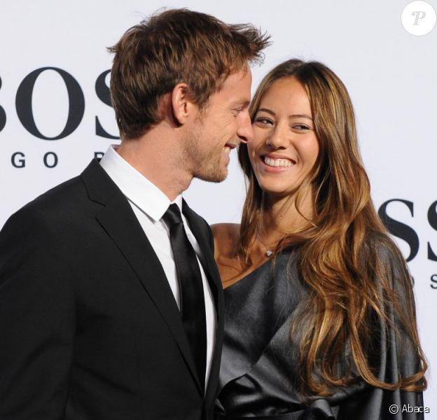 Jenson Button et sa somptueuse petite amie Jessica Michibata