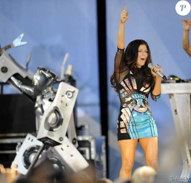 Les Black Eyed Peas dans Good Morning America, New York, le 30 juillet 2010
