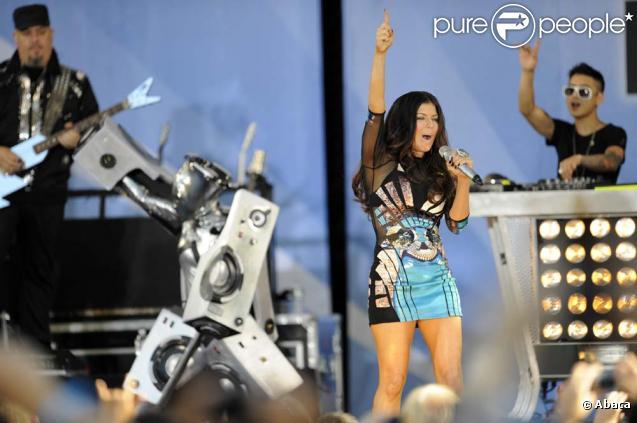 Les Black Eyed Peas dans  Good Morning America , New York, le 30 juillet 2010