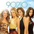 AnnaLynne McCord et les stars de la série  90210
