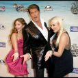 David Hasselhoff, entouré de ses deux filles, fait son Comedy Central Roast. 1/08/2010