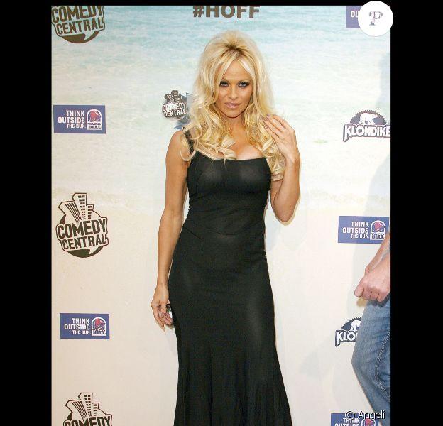 Pamela Anderson au Comedy Central Roast de David Hasselhoff. 1/08/2010