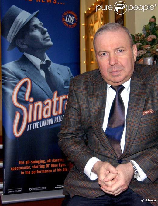 Frank Sinatra Jr. à Londres en avril 2006