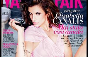 Pendant que George Clooney se pavane, Elisabetta Canalis, amoureuse, révèle tout de leur relation !