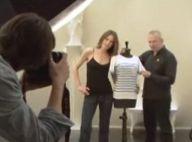 Regardez Carla Bruni poser avec Jean-Paul Gaultier et dévoiler... une superbe création !