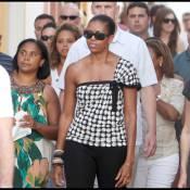 Michelle Obama, touriste charmante, a abandonné Barack... pour son anniversaire !