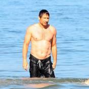 David Duchovny fête ses 50 ans... à la plage et bien entouré !
