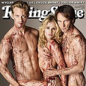 True Blood : Découvrez la sexy Anna Paquin nue entre deux vampires !