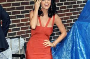 Katy Perry sort le grand jeu pour ses fans mais refroidit... David Letterman !