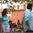Flashmob de l'équipe de Camping Paradis à Martigues, le lundi 23 août 2010