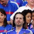 """Francis Lalanne """"agressé"""" lors d'un match de football, le 29 août 2010."""