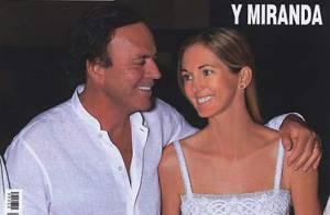 Julio Iglesias : Découvrez la photo de son mariage avec la jolie Miranda !