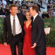 Vincent Cassel, Natalie Portman et Darren Aronofsky, à l'occasion du tapis rouge de  Black Swan , présenté en ouverture de la 67e Mostra de Venise, le 1er septembre 2010.