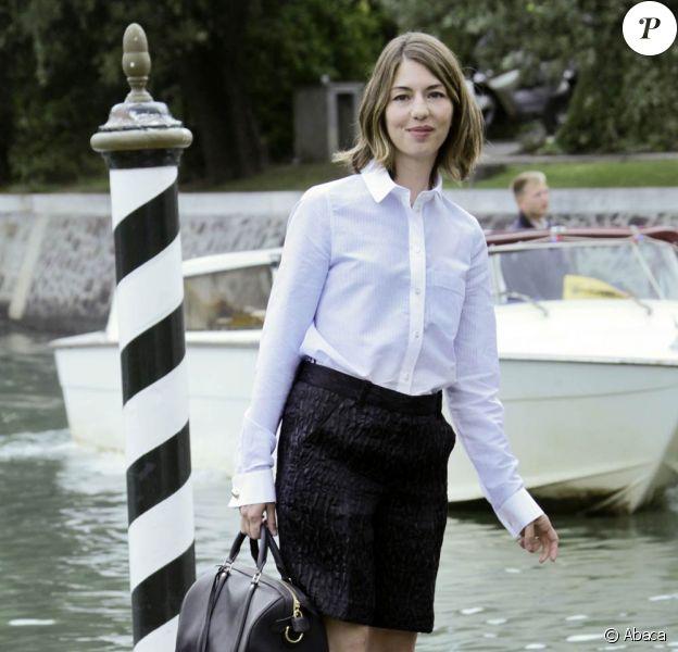 Sofia Coppola lors de son arrivée dans la Cité des Doges, pour la présentation de Somewhere à la 67e Mostra de Venise, le 3 septembre 2010.