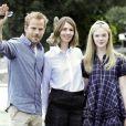 Stephen Dorff, Sofia Coppola et Ellen Fanning lors de leur arrivée dans la Cité des Doges, pour la présentation de  Somewhere  à la 67e Mostra de Venise, le 3 septembre 2010.