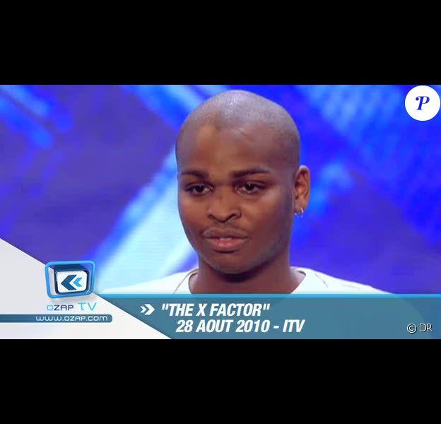 Cyril Cinélu dans X-Factor