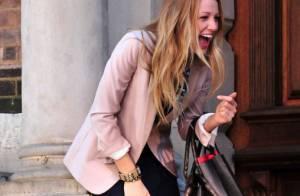 Blake Lively : Crise de rire sur le tournage de Gossip Girl ! Et découverte des coulisses à Paris...