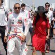 Lewis Hamilton et Nicole Scherzinger