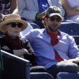 Dans les dernières heures de l'US Open, le 11 septembre 2010, les people savouraient l'intensité des rencontres du dernier carré, à l'instar de Bradley Cooper.