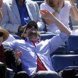 Dans les dernières heures de l'US Open, le 11 septembre 2010, les people savouraient l'intensité des rencontres du dernier carré. Charlize Theron affichait une humeur rieuse.