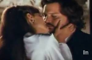 Découvrez Angelina Jolie embrassant Johnny Depp dans les premiers extraits de The Tourist !