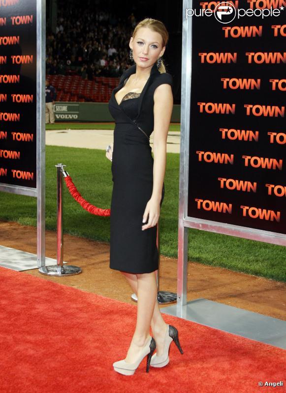 Blake Lively lors de l'avant-première du film The Town à Boston le 14 septembre 2010