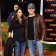 Matt Damon et sa femme enceinte Luciana lors de l'avant-première du film The Town à Boston le 14 septembre 2010