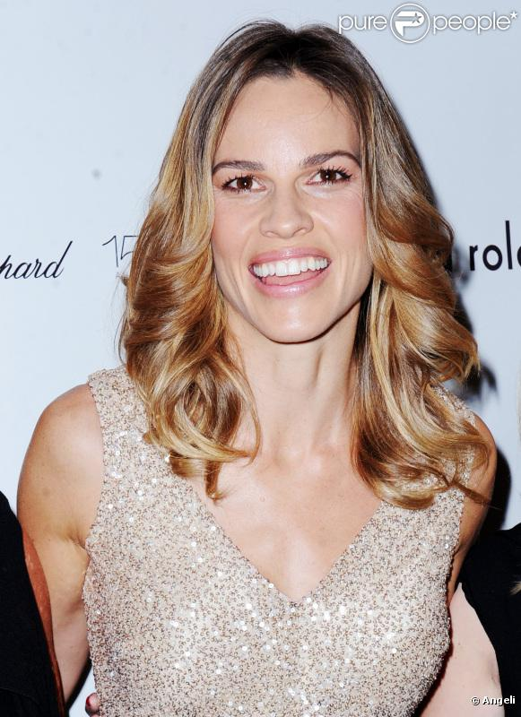 Hilary Swank à New York, le 14 septembre 2010