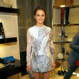Leighton Meester lors de la soirée Fashion's Night Out dans la boutique Roger Vivier le 10 septembre 2010 à New York