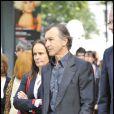 Christophe Malavoy à l'occasion de la cérémonie en hommage à Claude Chabrol, sur le parvis de la Cinémathèque Française, à Paris, le 17 septembre 2010.