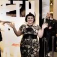 Beth Ditto lance sa collection de vêtements au magasin Selfridges de Londres le 17 septembre 2010.