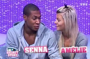 Secret Story 4 : Amélie a un gros cerveau éteint... et Bastien milite pour faire nominer Senna et Amélie !