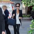 Victoria Beckham lors de la Fashion Week de New York, le 14 septembre 2010
