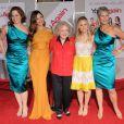 Sigourney Weaver, Odette Yustman, Betty White, Kristen Bell et Jamie Lee Curtis lors de l'avant-première du film You Again à Los Angeles le 22 septembre 2010