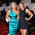Jamie Lee Curtis et sa fille Annie lors de l'avant-première du film You Again à Los Angeles le 22 septembre 2010