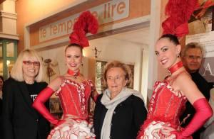 Mireille Darc et Bernadette Chirac au Moulin rouge ? Non, à l'hôpital !