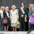 Hommage à Stefano Casiraghi, 20 ans après sa mort, le 3 octobre 1990. Sa maman Fernanda est présente.